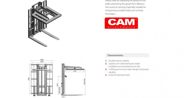 Attachement Load Extenders & Stabilisers 3 cam_load_stabilizer