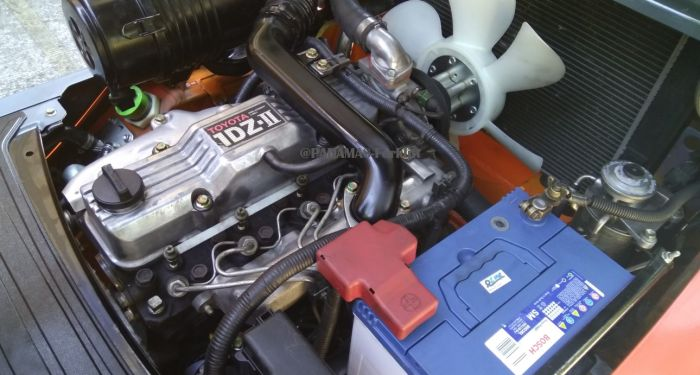 IN STOCK TOYOTA ENGINE 1DZ-II 2 eng